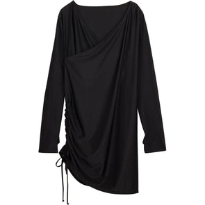 womens sun protection swimsuit cover ups black spf