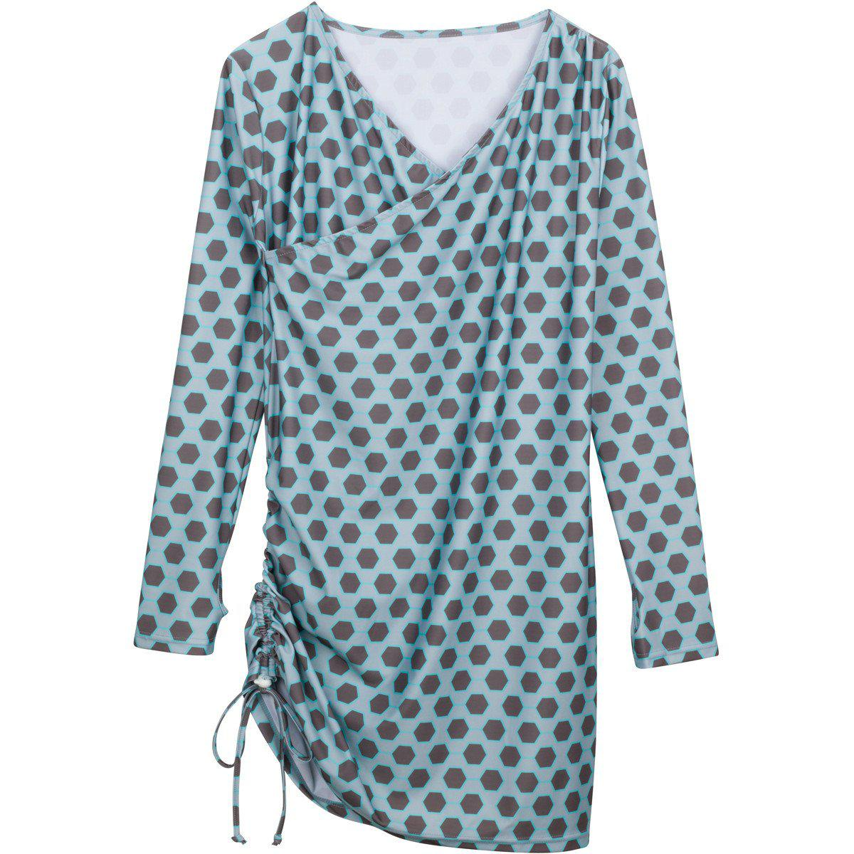 "The Sophisticated Swim Cover Up - ""Pacific Pretty"""