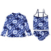 "Big Girl Zipper Long Sleeve Rash Guard Swimsuit Set UPF 50+ with Tankini | ""Tie Dye"""