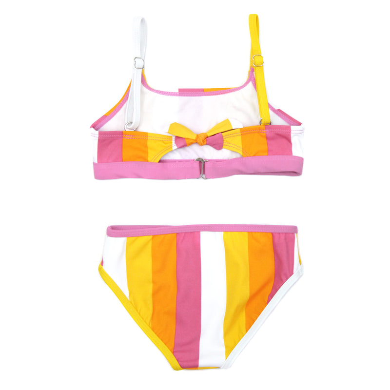 "Girl's Bikini Set (2 Piece) - ""Be Bold""-SwimZip UPF 50+ Sun Protective Swimwear & UV Zipper Rash Guards-pos3"