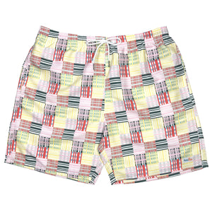 "Men's 6.5"" Swim Trunks - ""Madras"""