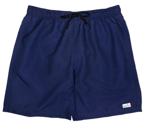 "Men's 6.5"" Swim Trunks - Navy - SwimZip Sun Protection Swimwear"