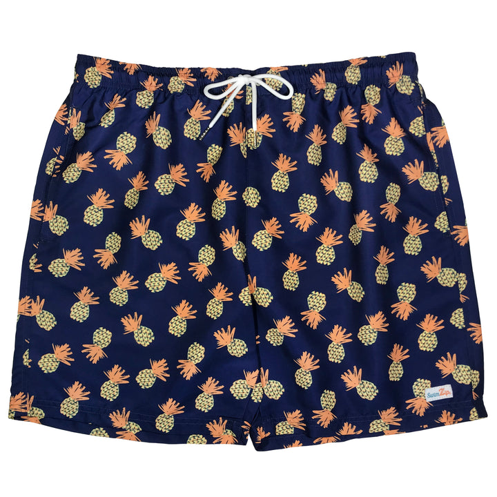 "Men's 6.5"" Swim Trunks - ""Pineapple"""