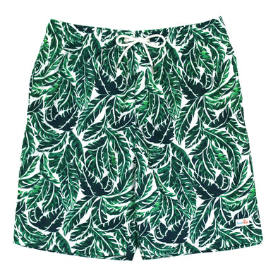 "Men's Swim Trunk Shorts | ""Palm Leaf"""