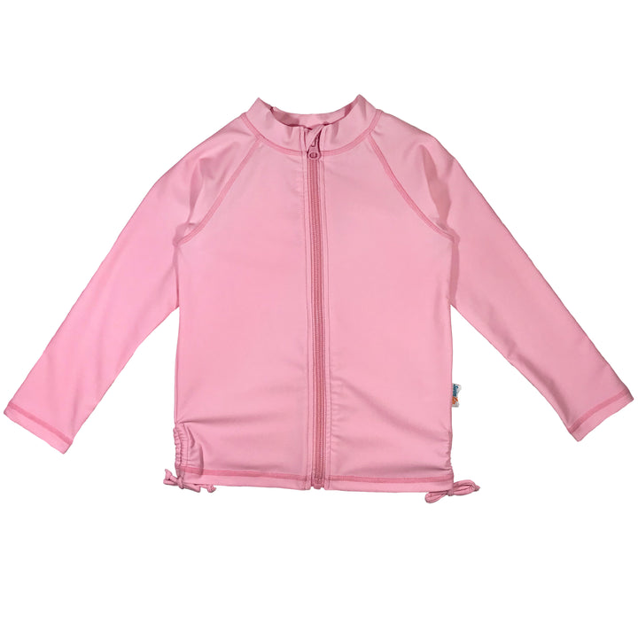 Girl's Long Sleeve Rash Guard - Multiple Colors - SwimZip Sun Protection Swimwear