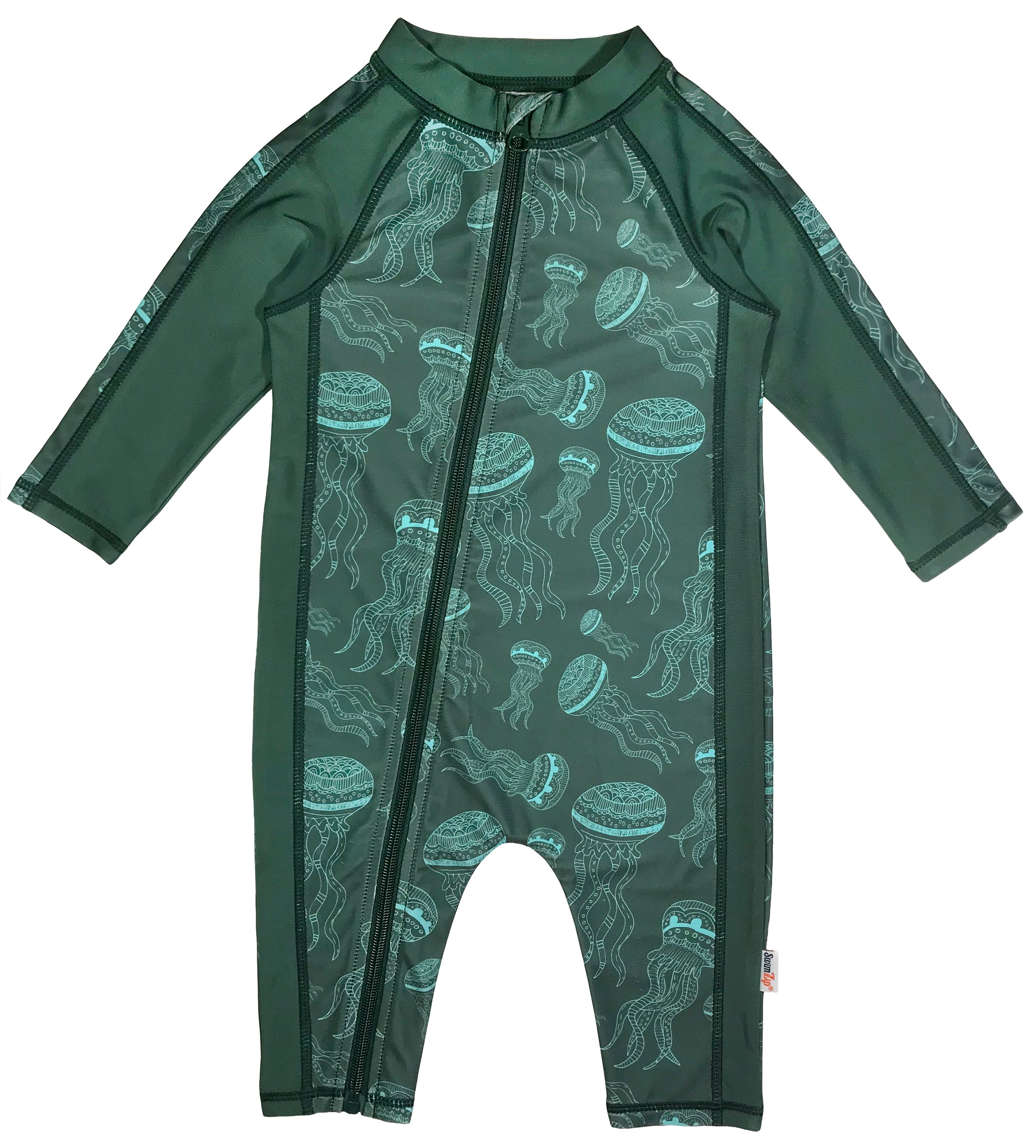 22ce07b52b Sunsuit - Boy Long Sleeve Romper with UPF 50+ UV Sun Protection |