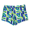 "Swim Shorties with SPF 50+ UV Sun Protection | ""Geo Wave"""