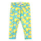 "Kid's Swim Pants - ""Lemons""-6-12 Month-Lemons-SwimZip UPF 50+ Sun Protective Swimwear & UV Zipper Rash Guards-pos1"
