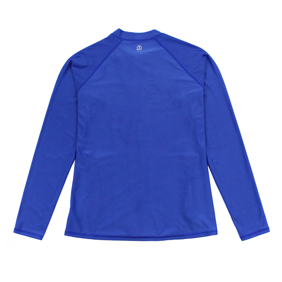 Women's Long Sleeve Rash Guard with Pockets UPF 50 + | Amparo Blue - SwimZip Sun Protection Swimwear