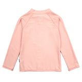 Unisex Long Sleeve Rash Guard Zipper UPF 50+ Swim Shirt | Peach Melba-SwimZip UPF 50+ Sun Protective Swimwear & UV Zipper Rash Guards-pos2