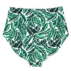 "Women's High Waist Bottoms UPF 50+ | ""Palm Leaf"""
