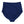 Women's High Waist Bikini Bottoms - Navy-SwimZip UPF 50+ Sun Protective Swimwear & UV Zipper Rash Guards-pos3