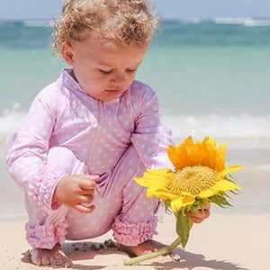 sun protective swimwear for toddlers by SwimZip
