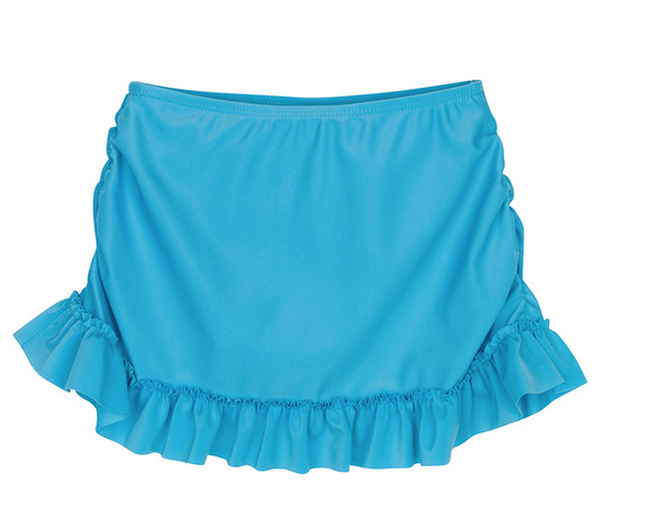 "Girls Swimsuit Skirt Cover-up UPF 50+ - ""Mermaid"" Cover Up"