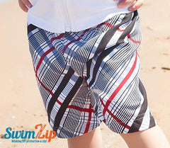 Boy Swim Trunks with SPF 50+ UV Sun Protection (Multiple Patterns)