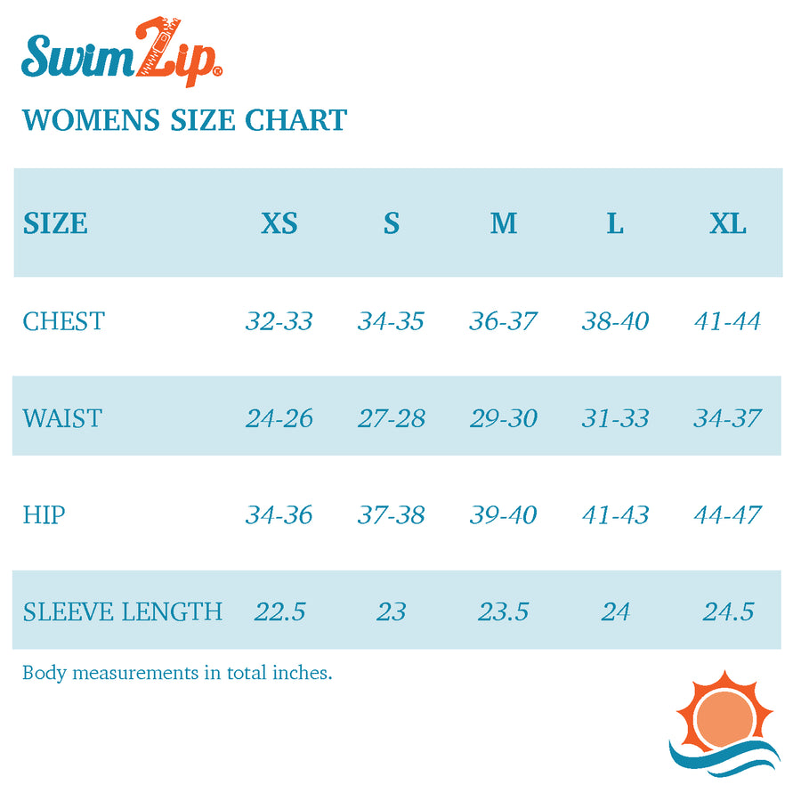 "Women's One-Shoulder Bikini Top - ""Peachy Stripes"" - SwimZip Sun Protection Swimwear"