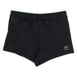 Kid's Euro Swim Shorties - Black-6-12 Month-Black-SwimZip UPF 50+ Sun Protective Swimwear & UV Zipper Rash Guards-pos1