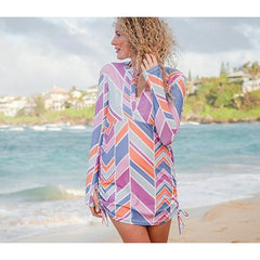 women's sun protective swimsuit cover-up