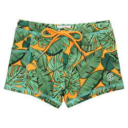 "Kid's Euro Swim Shorties | ""The Tropics"""