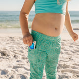 "Kid's Swim Pants | ""Seashell""-SwimZip UPF 50+ Sun Protective Swimwear & UV Zipper Rash Guards-pos4"
