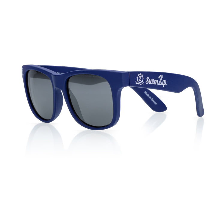 Sunglasses for Kids - Bendable Frames and 100% UV Protection | Navy Blue Wayfarer