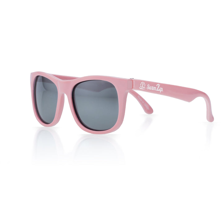 Sunglasses for Kids - Pink Wayfarer - SwimZip Sun Protection Swimwear