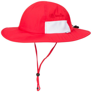 "Toddler Wide Brim Sun Hat - ""Fun Sun Day Play Hat"" - SwimZip Sun Protection Swimwear"