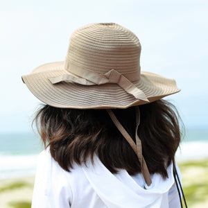Girls' Wide Brim Sun Hat - Multiple Colors - SwimZip Sun Protection Swimwear