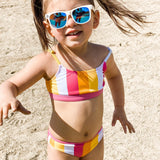 "Girl's Bikini Set (2 Piece) - ""Be Bold""-SwimZip UPF 50+ Sun Protective Swimwear & UV Zipper Rash Guards-pos2"