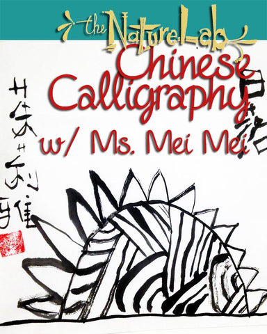 Chinese Calligraphy Art w/ Ms. Mei Mei