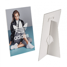 Load image into Gallery viewer, Mounted Counter Cards | Gloss or Matt Glazed | Mounted to Screen + Strut