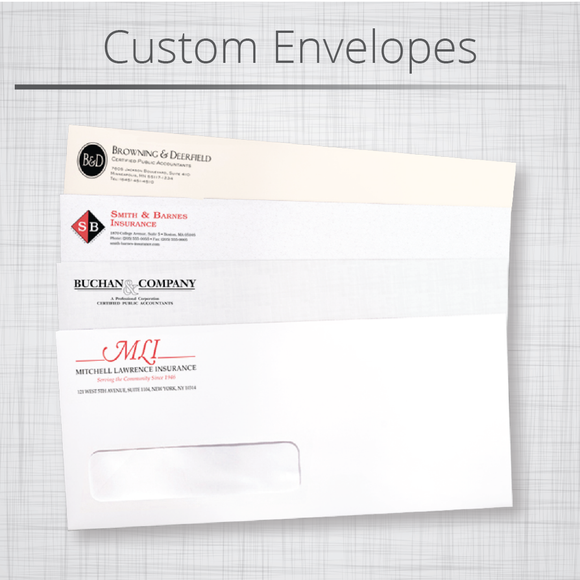 Envelopes : Includes Free Artwork Design & Delivery