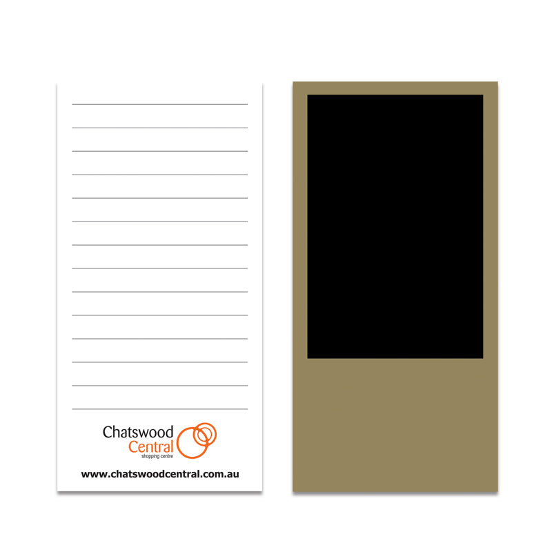 Magnetic Notepads | 70x140mm | 25 Pages Per Pad | x 250 Pads