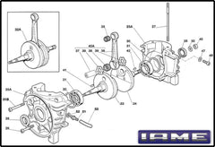 IAME ('08 and Older) Crankcase