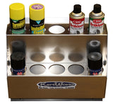 10 Can Horizontal Aerosol Rack
