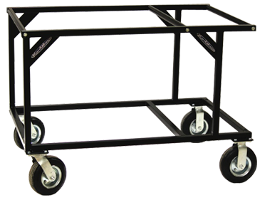 Stackable 2-Tier Kart Stand (Black)