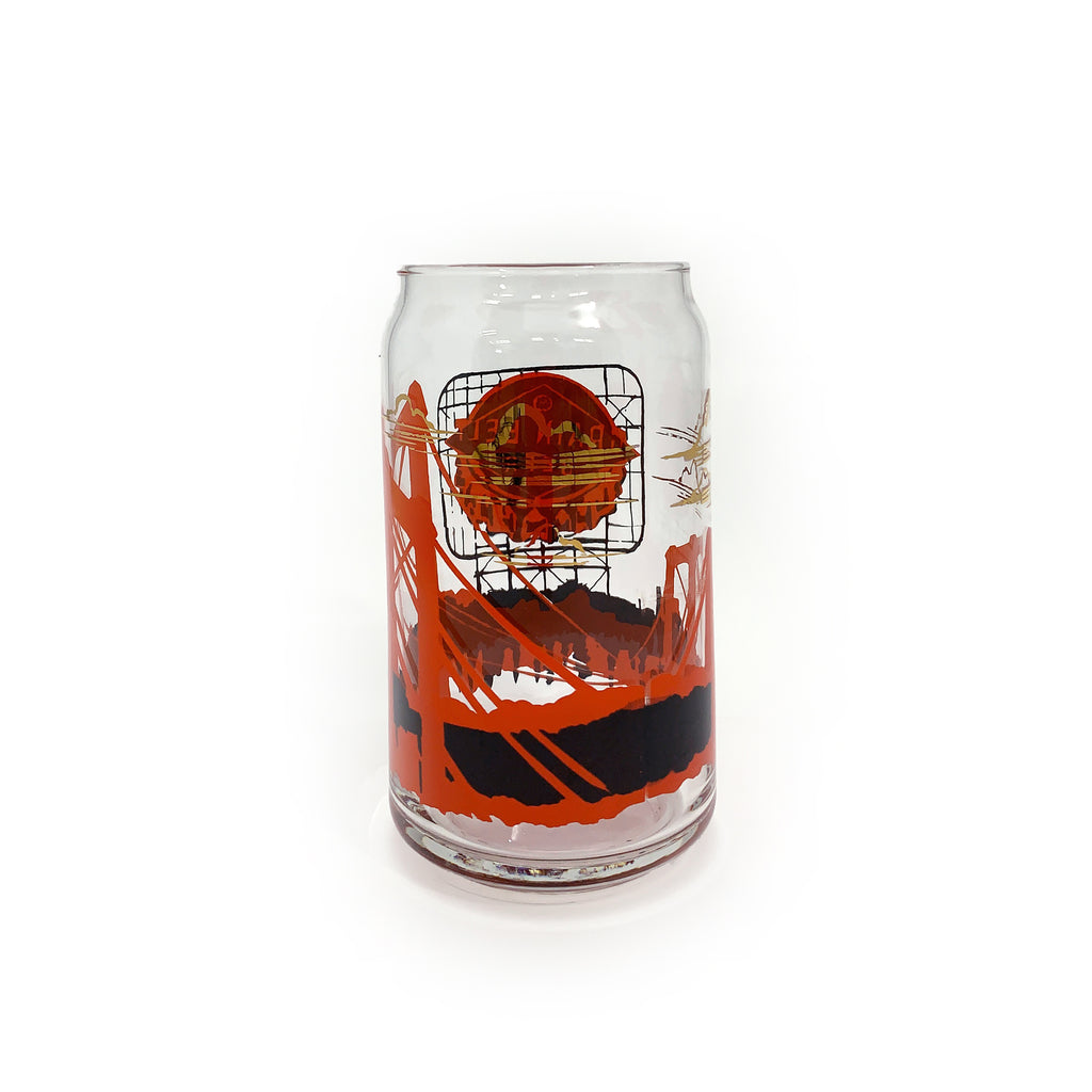Grainbelt Beer Can Glass