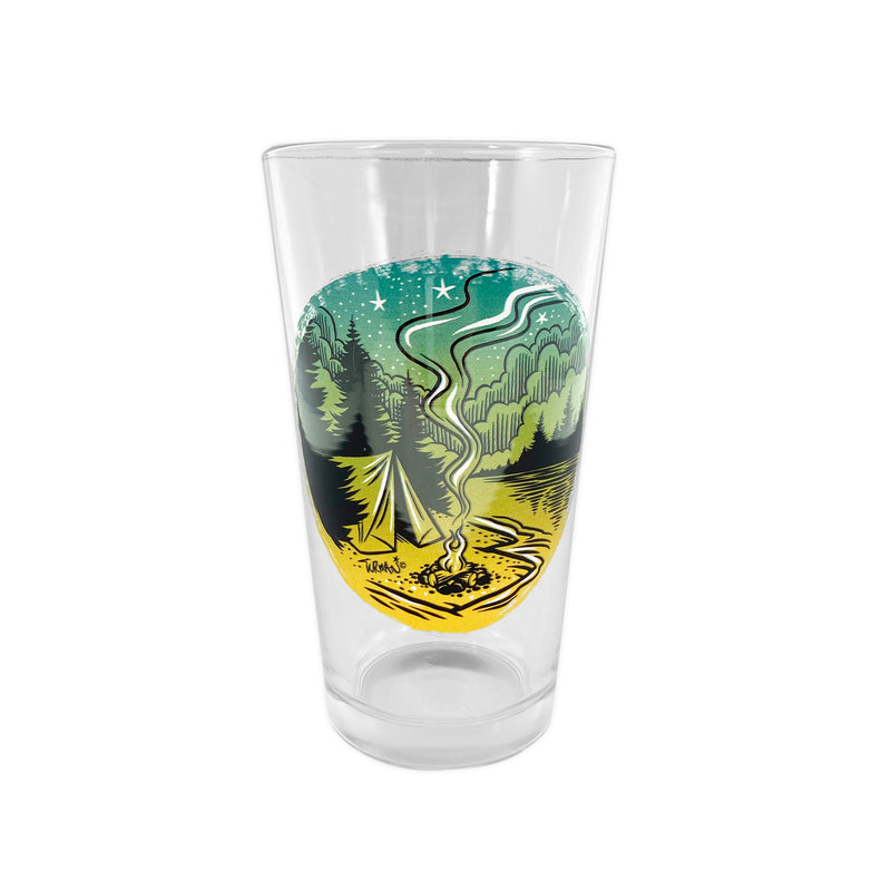 Campfire Outdoor Series Pint Glass