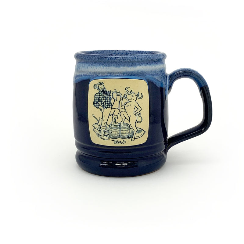 Paul & Babe Cheers! Stoneware Mug