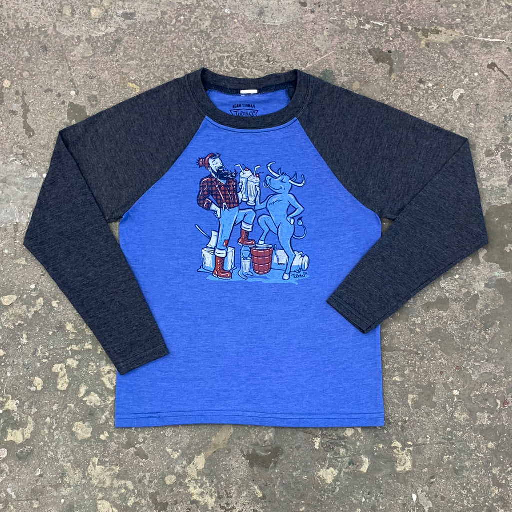 Paul & Babe Milkshake Cheers Youth L/S T-Shirt