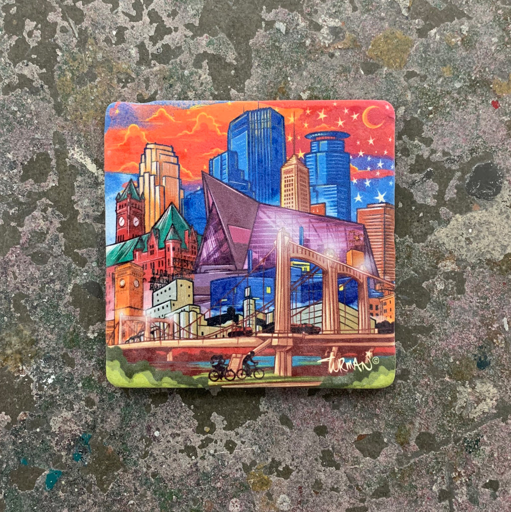 Downtown Minneapolis Coaster