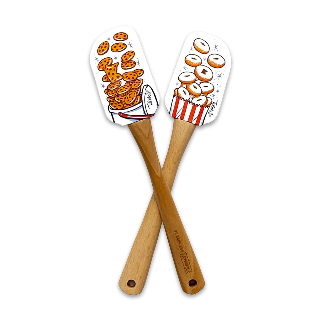 Exploding Food Spatula and Tea Towel Set
