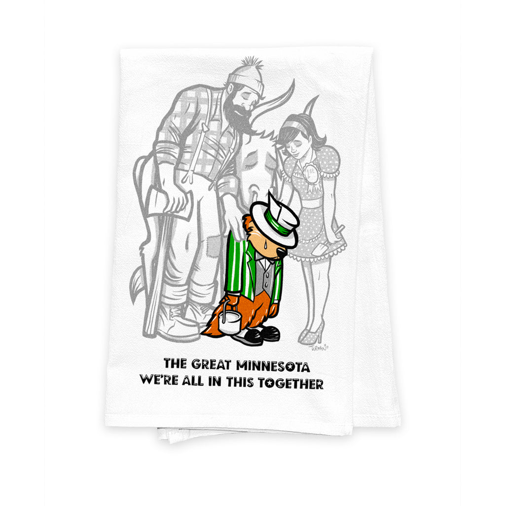TGM-We're All in this Together Tea Towel