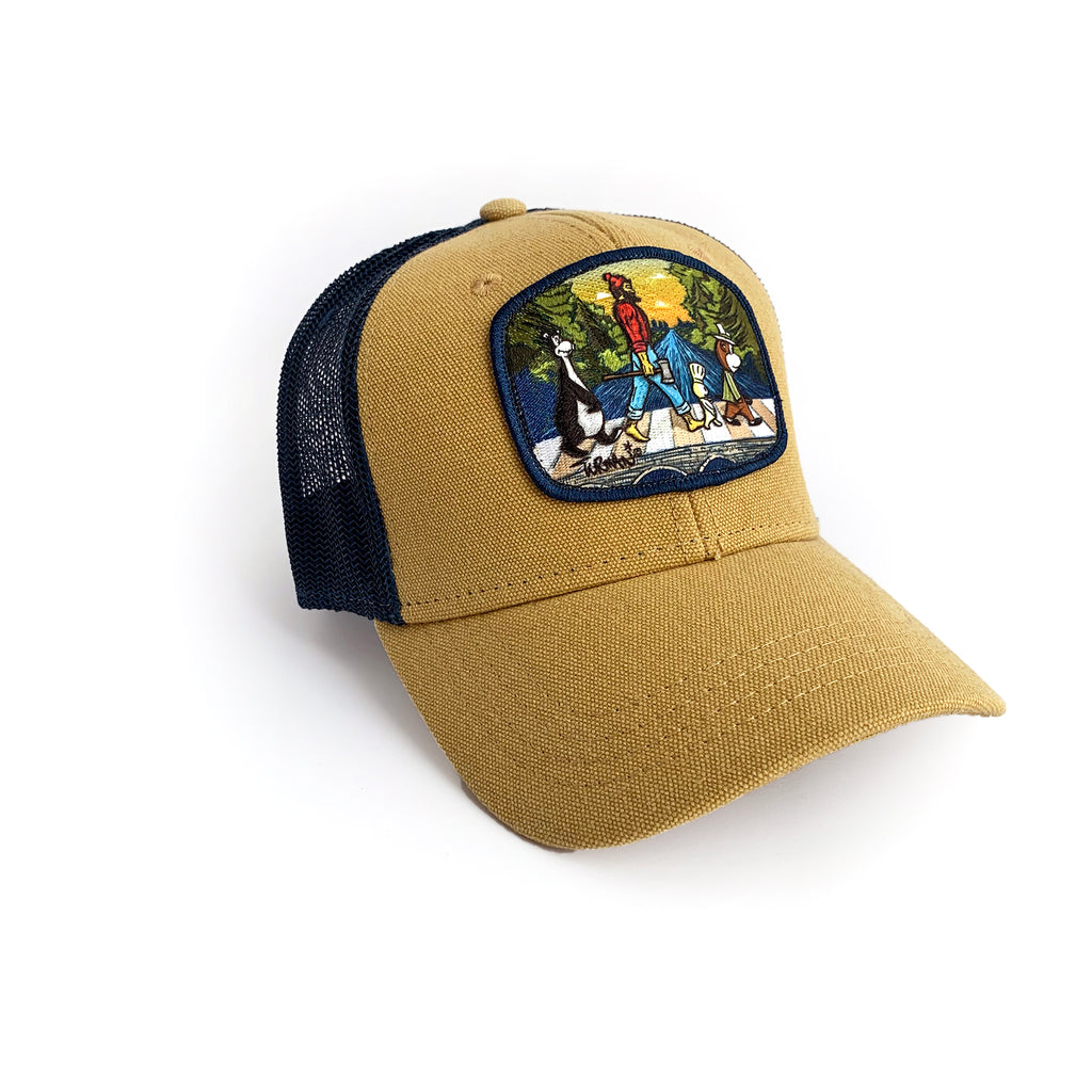 MN Abbey Road Snapback Hat - Tan