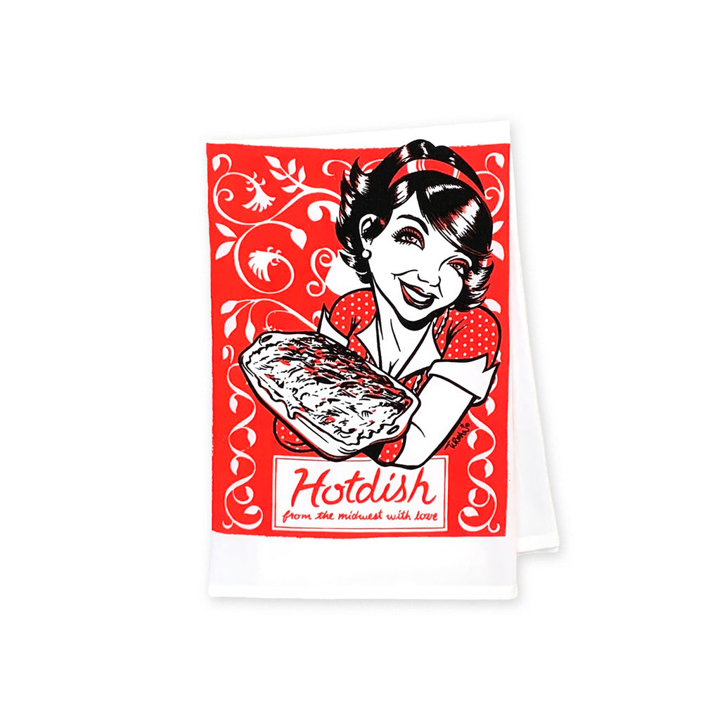 Hotdish Tea Towel