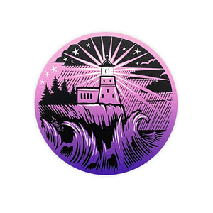 Outdoor Series Lighthouse Sticker