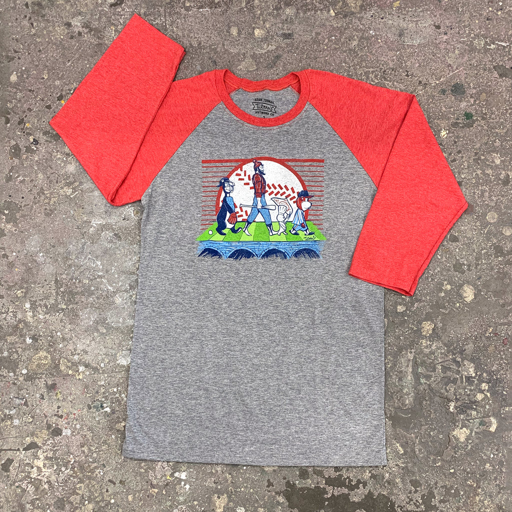 MN Abbey Road Baseball 3/4 Sleeve T-Shirt