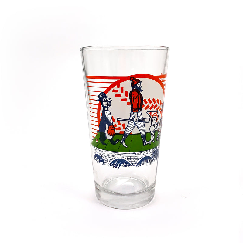 MN Abbey Road Baseball Pint Glass