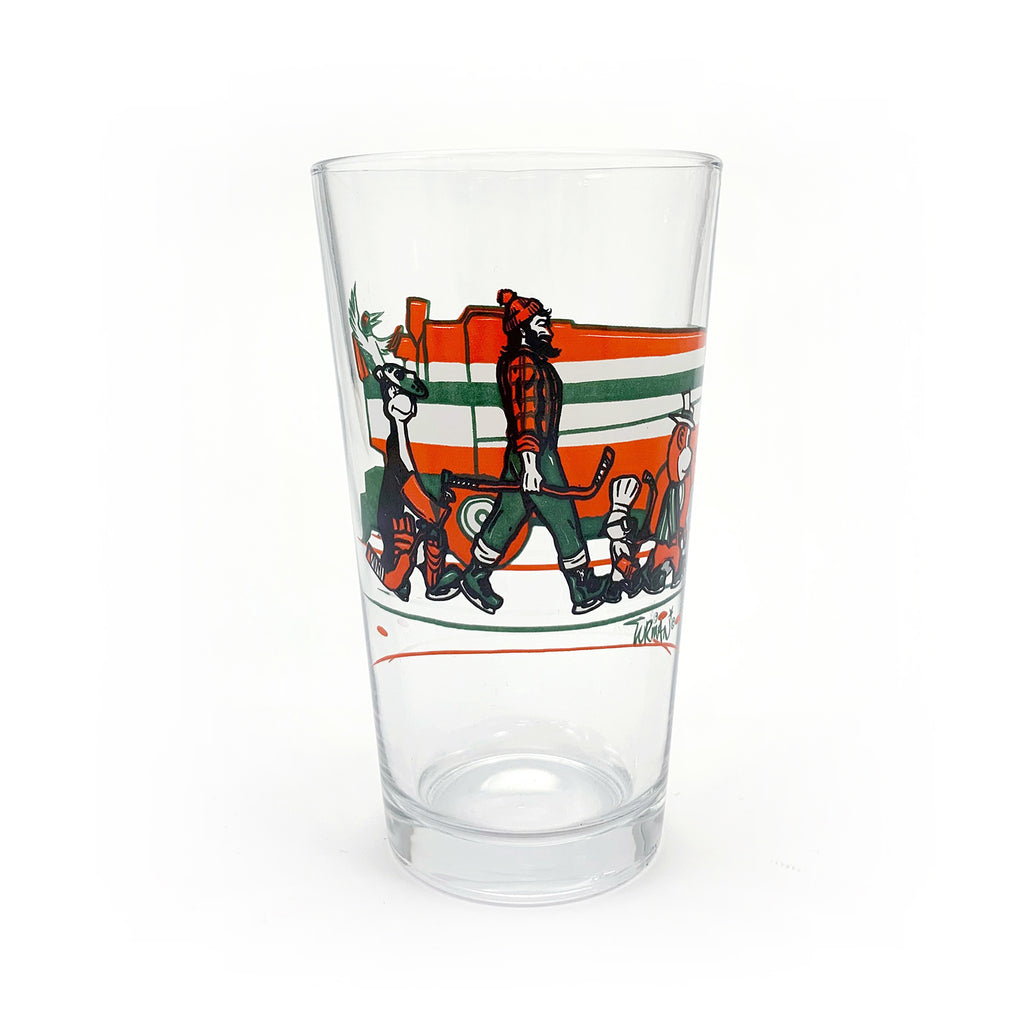 MN Abbey Road Hockey Pint Glass