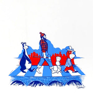MN Abbey Road Tea Towel